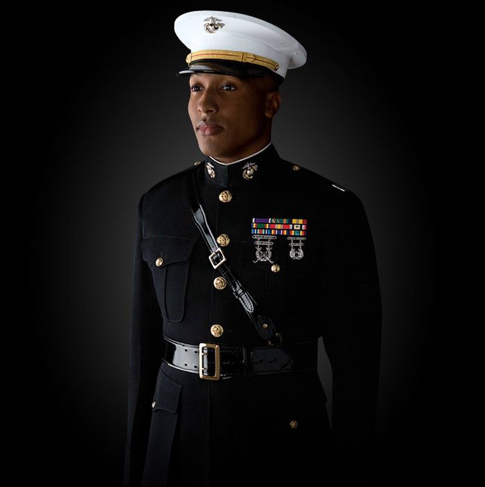 dating a marine corps officer uniform