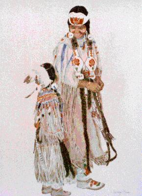 Shoshone Women's Clothing http://harisingh.com/newsNative3.htm