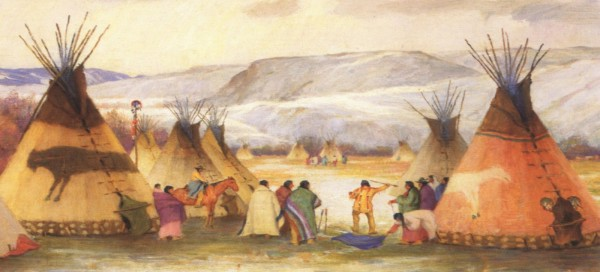 The thriving of the native american civilization